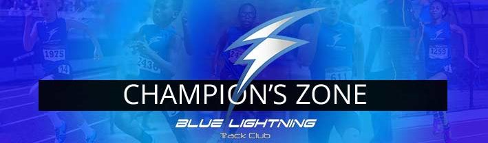 Blue Lightning Track Club Champion's Zone