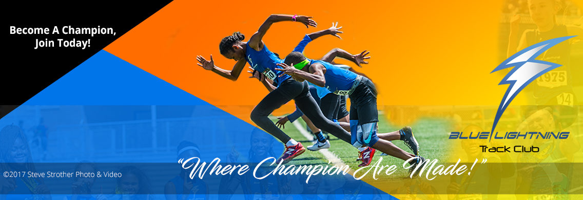 Blue Lightning Track Club - Where Champions Are Made!